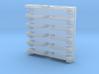 1/24 scale Gm style Door Handles 3d printed