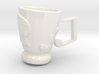 RockStar Hairstyle Tea Cup 3d printed