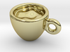 Coffee Cup Earring Or Pendant 3d printed