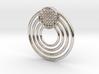Circular Pendant 3d printed