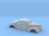 1/43 1940 Ford Coupe 3 In Chop 7  In Section 3d printed