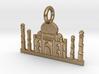 Taj Mahal, Agra, India Charm 3d printed