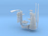 1/32 U boat conning tower details 3d printed