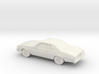 1/87 1977-78 Chevrolet Caprice Coupe 3d printed