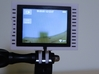 """GoPro Hero3 """"Touch'n'Batt"""" Frame'ish (Frame) 3d printed Leaves space for use of the touch screen."""