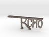 KCMO Bottle Opener Keychain - Kansas City 3d printed