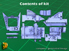 ZSU-23-4 shilka driver compartment (MENG) 3d printed ZSU-23-4M driver compartment - parts