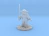 Hipster Yoda 3d printed