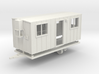 Construction Trailer 1-87 HO Scale WSF 3d printed