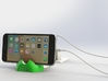 iPhone 6S/6S Plus Dock-Green 3d printed 3D Rendered images of iPhone 6S Plus Docking and Charging