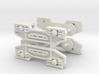 2 x N Gauge 1:148 Scale Bogeys for JUA Wagon 3d printed