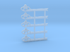 """HO Scale GRS Style A Fishtail Semaphore 60"""" 3d printed"""