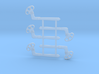 """HO Scale GRS B Semaphore Pointed 60"""" 3d printed"""