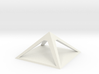 pyramid for charging crystals gemstones other item 3d printed