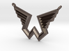 Wings Logo Necklace Pendant 3d printed