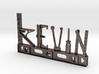 Kevin Nametag 3d printed