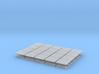 Skids (32) - N 160:1 Scale 3d printed