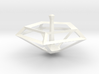 Geometric Spinning Top  3d printed
