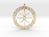 Delphic Apollo E Ancient Greek Jewelry Symbol 3D  3d printed