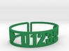 Taconic Zip Cuff 3d printed