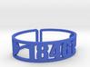 Starlight Zip Cuff 3d printed