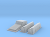 1/43 Ford 427 Side Oiler Stock Pan And Cover Kit 3d printed