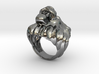 Lion ring size 7- 3d printed