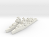 Benham class destroyer 1/1800 x2 3d printed