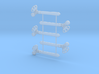 O Scale 3Pos. TO Semaphore Pointed 3d printed