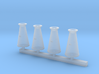 Conical Milk Churn HO scale 3.5mm 3d printed