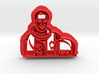 Guion S Bluford Cookie Cutter 3d printed