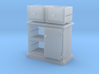 2 Draw Cabinet 1:12 3d printed
