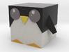 Penguin Cubeez 3d printed