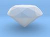 Diamond, Brilliant Cut, small 3d printed