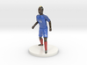 French Football Player 3d printed