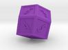 The Rhombus Dice 3d printed