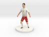 Polish Football Player 3d printed
