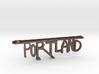 PORTLAND Bottle Opener Keychain 3d printed