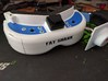Fat Shark Fan Shroud 3d printed (FatShark goggles and antenna not included)