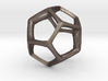 Dodecahedron 6cm tall 3d printed