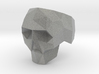 Low-poly Skull Ring 3d printed