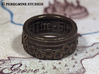 Ring - Bolero of Fire (Size 13) 3d printed Antique Bronze Glossy
