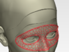 Head Mask 3d printed