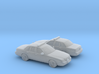 1/200 2X 1998-11 Ford Crown Victoria Police Cruise 3d printed