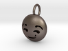 Dime Sized Emoji Smirk 3d printed
