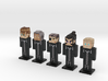 Organization XIII- KH2 5-pack (Weaponless) 3d printed