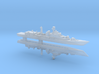 Type 052 Destroyer x 2, 1/6000 3d printed