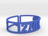 Kennybrook Zip Cuff 3d printed