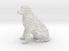 Voronoi Labrador Retriever Dog (Big) 3d printed