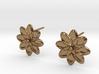 Flora Earrings 3d printed